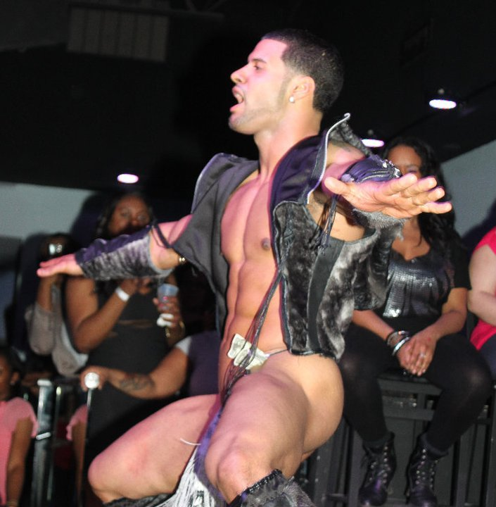 Male stripper chaps